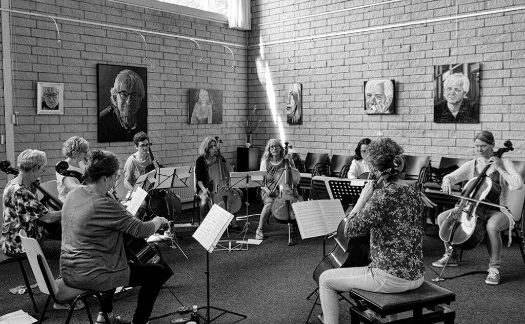 Workshop cello samenspel Cellocafé Rhenen